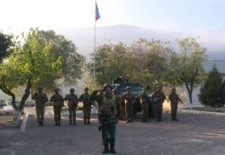 Azerbaijani flag hoisted in Agbend village of Zangilan district (VIDEO)