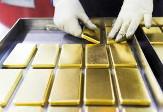 Azerbaijan sees increase in gold price