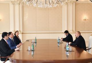President Ilham Aliyev receives Turkish Chief Ombudsman (PHOTO)