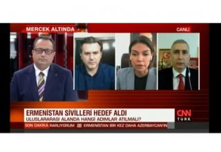Trend News Agency's editor-in-chief tells CNN Turk about ongoing tension in Karabakh (PHOTO/VIDEO)
