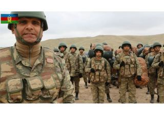 Azerbaijani army liberates occupied lands with great inspiration (VIDEO)