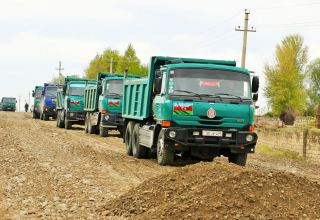 Azerbaijan starts reconstructing roads leading to liberated villages of Tartar (PHOTOS)