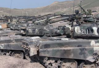 Azerbaijan shows video footage of captured military equipment of Armenian Armed Forces (VIDEO)