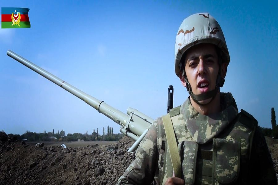 Azerbaijan - our home, our homeland, says Azerbaijani soldier of Jewish origin (VIDEO)