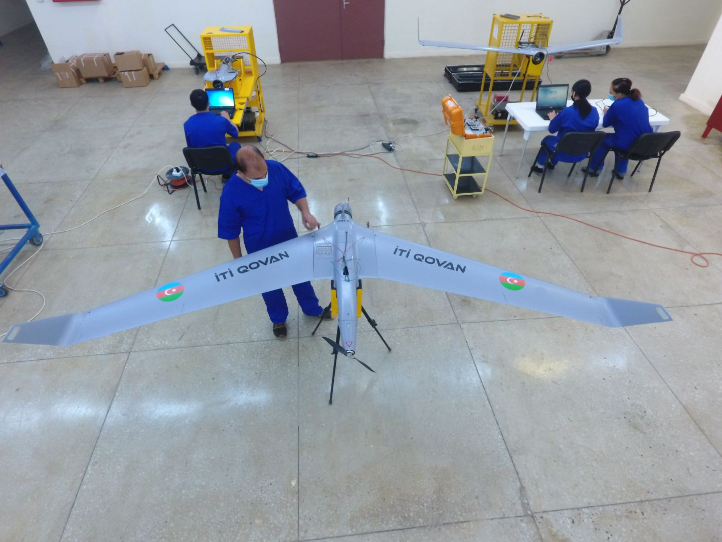 Ministry of Defense Industry continues production of combat UAVs for Azerbaijani army (PHOTO) - Gallery Image