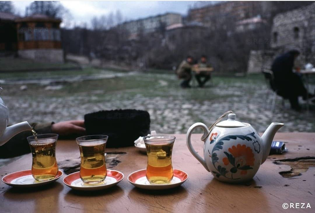 Famous photographer says drinking tea in Shusha  - his 30-year old dream (Exclusive)