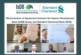 A framework agreement of cooperation between IsDB and Standard Chartered Bank