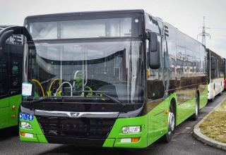 Georgia receives new buses of modern standards
