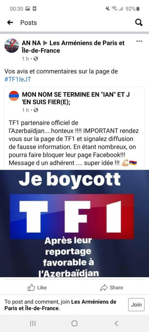Armenians threatening to kill French TV channel's journalist (PHOTOS) - Gallery Image