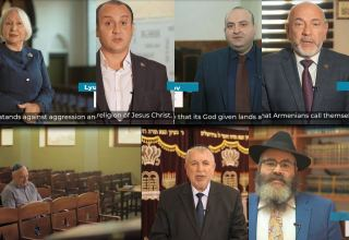 Religious confessions of Azerbaijan demonstrate solidarity in fight against Armenian terror (VIDEO)