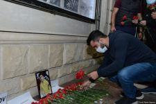 Gəncədəki erməni terroru nəticəsində həlak olan Rusiya vətəndaşının xatirəsi yad edilib (FOTO) - Gallery Thumbnail