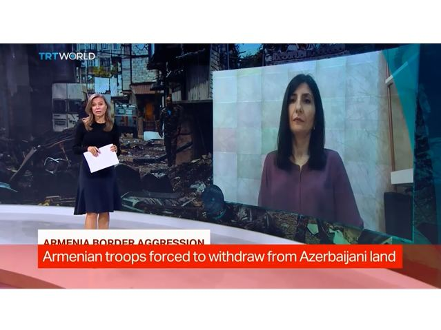 Armenia never supports peace – Azerbaijani MP in interview to TRT World TV channel (VIDEO)