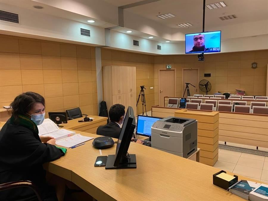 Istanbul courts hold e-hearing for first time