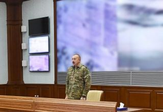 We will drive enemy away to very end, will restore our territorial integrity! - President of Azerbaijan