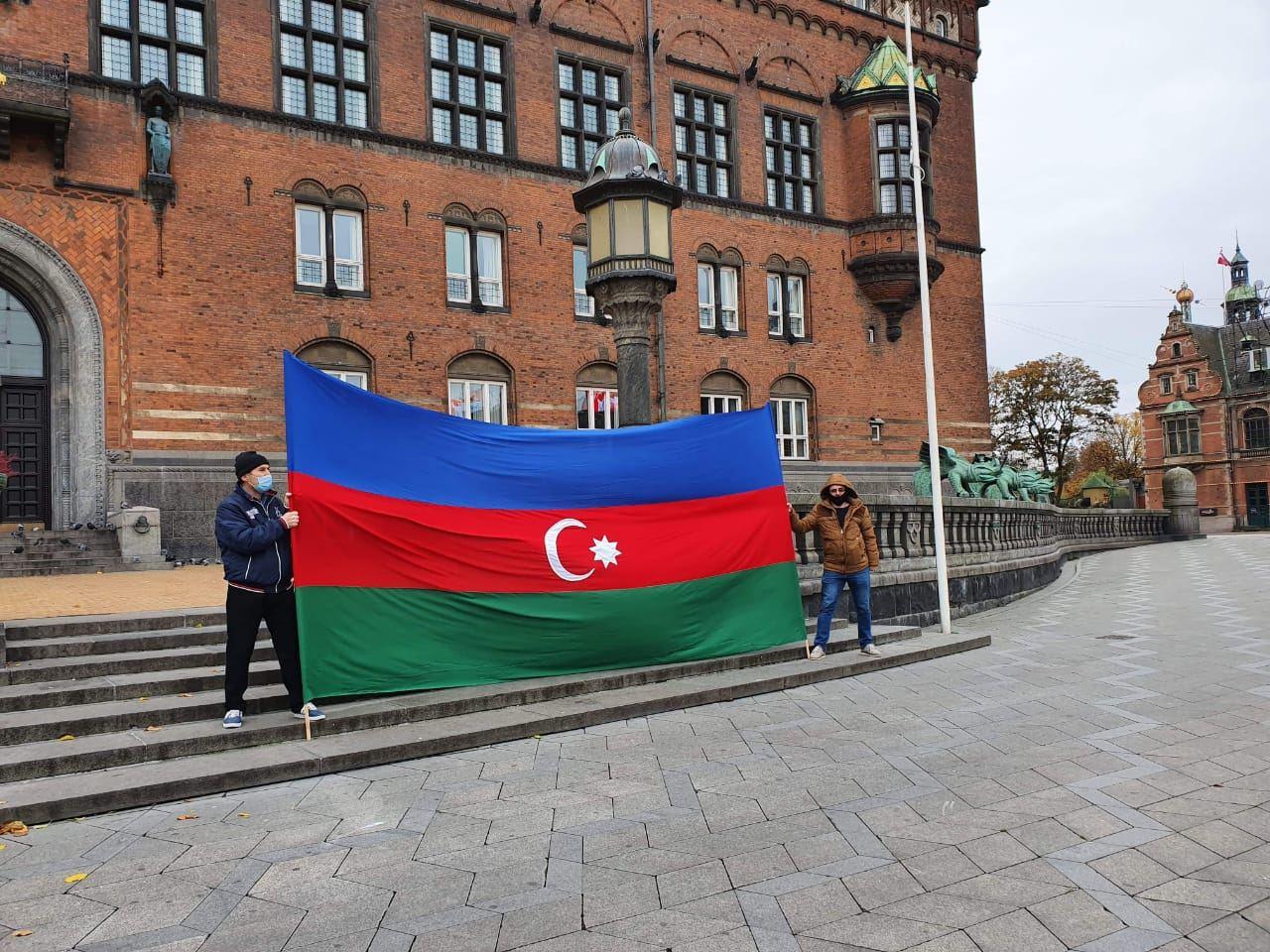 В Копенгагене решительно осудили армянский террор в Гяндже (ФОТО) - Gallery Image