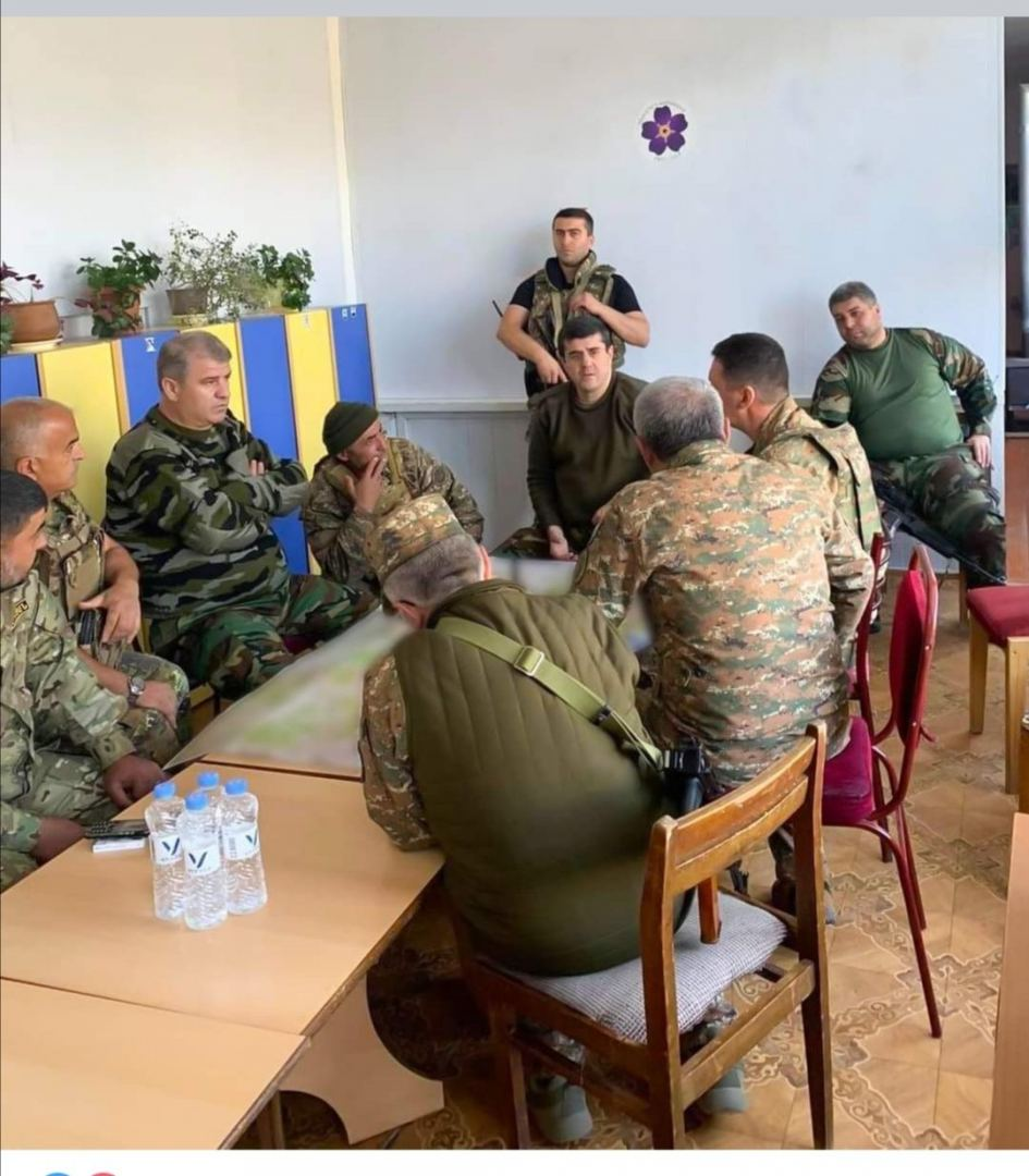 Commanders of Armenian armed forces hold meetings at kindergarden (PHOTO) - Gallery Image