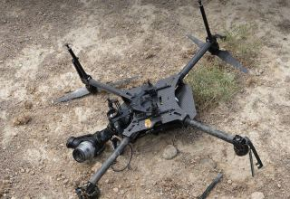Armenian Armed Forces' quadrocopter destroyed by Azerbaijani troops