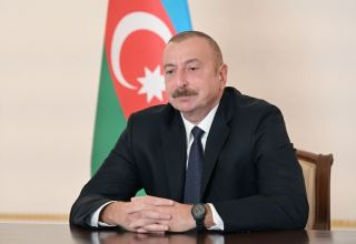There are periodical supplies of Armenian armed forces from base in Gumru - Azerbaijani president