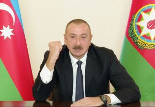 Enemy already running away from us we will continue to chase them, because we are right and we are strong - President of Azerbaijan