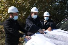 Work connected with laying of gas pipelines on freed Azerbaijani territories kicked off (PHOTO/VIDEO) - Gallery Thumbnail