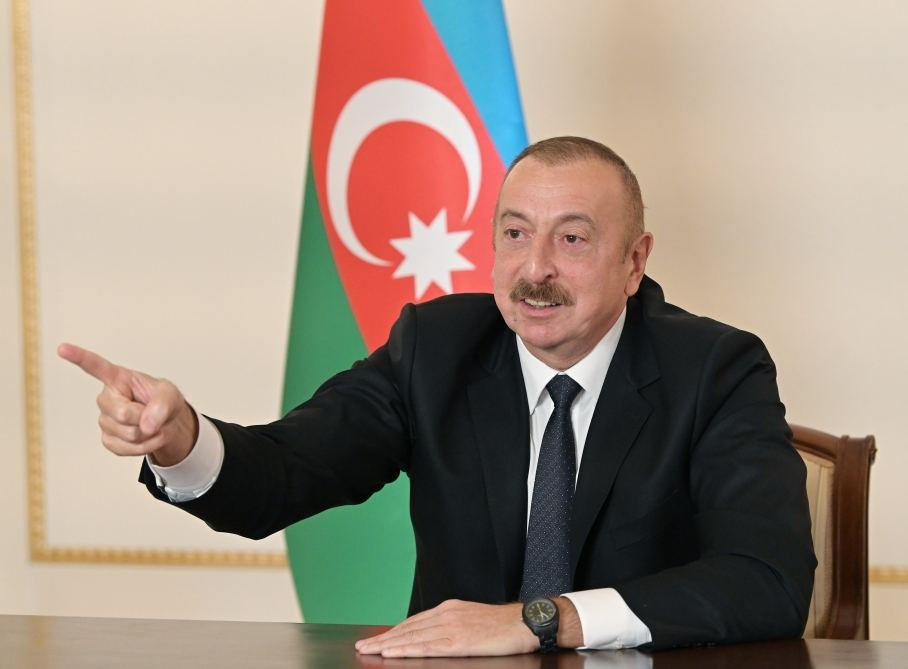 If Azerbaijan is attacked from outside, F-16s will be used, President Aliyev says