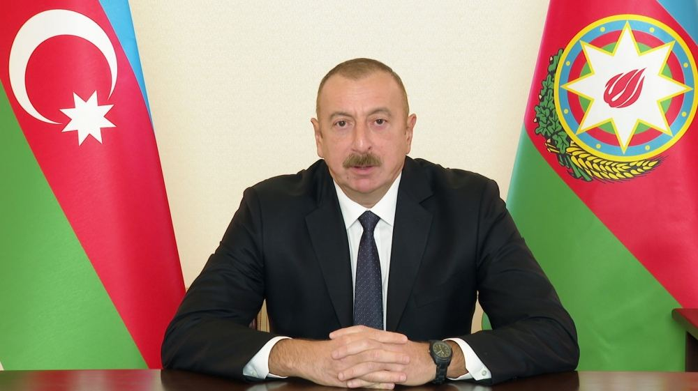 Less than two weeks after Heydar Aliyev resigned from all posts, Armenian separatists rose up and demanded that Nagorno-Karabakh be separated from Azerbaijan - President Aliyev