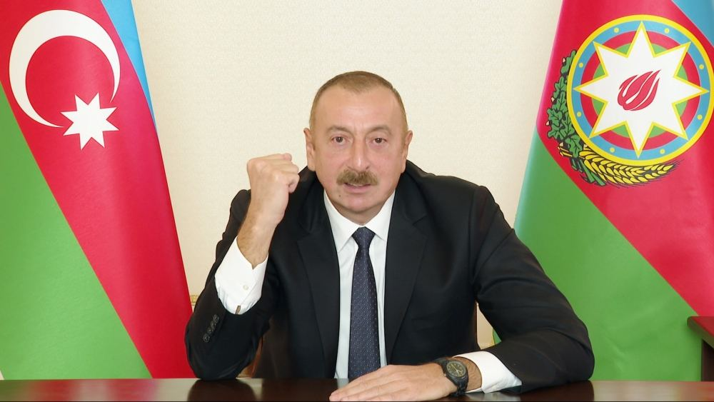 If ceasefire continues and issue remains frozen again, this cannot suit us - President of Azerbaijan