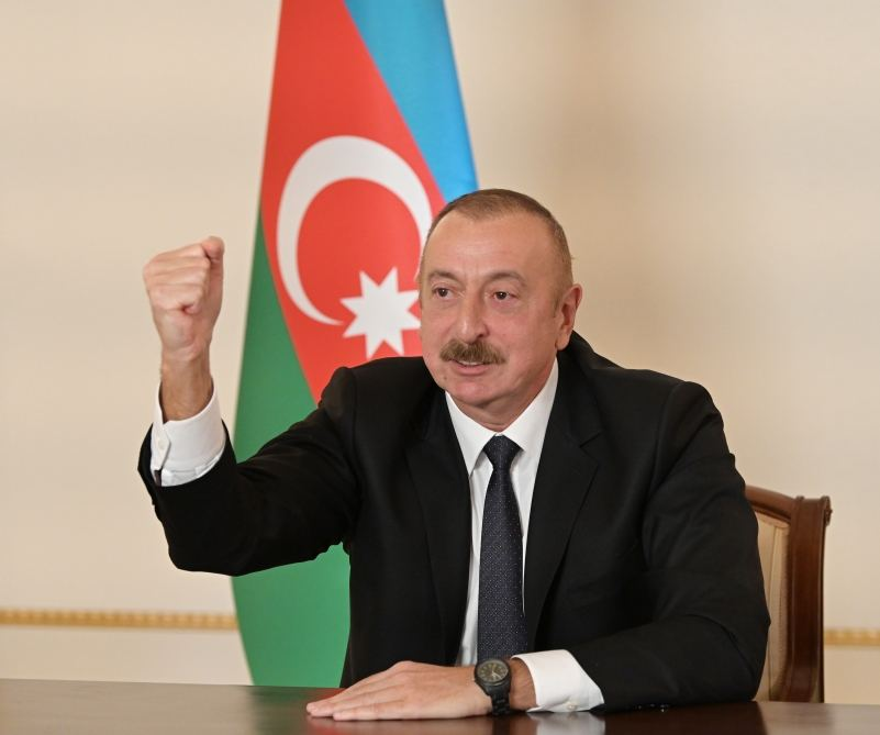President Ilham Aliyev talks proving to world that Karabakh is Azerbaijan's historical land