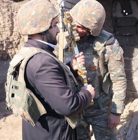 Armed 'religion servants': Armenian Сhurch calling for war (PHOTO) - Gallery Image