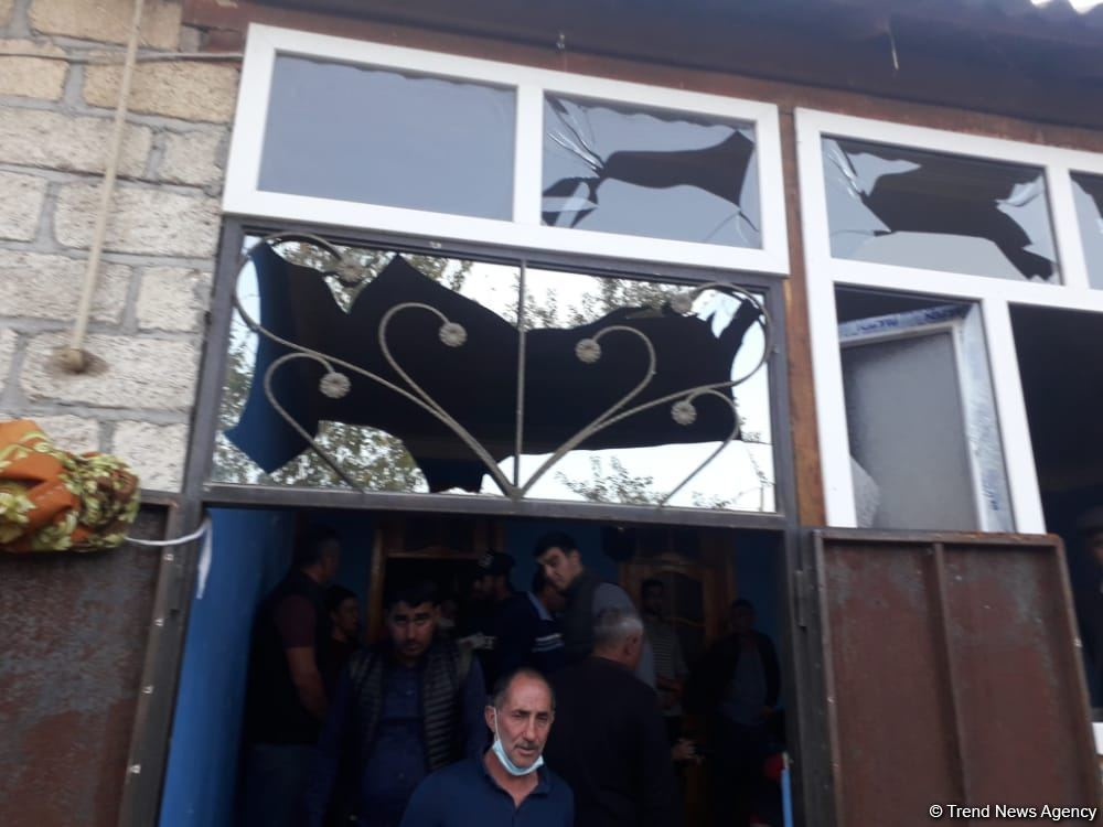 Children killed and wounded as result of Armenian Armed Forces' missile attack
