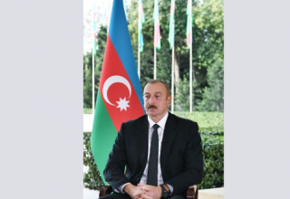 President Aliyev talks online footage of armed clashes, Azerbaijan's military potential