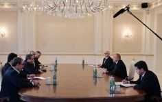 President Ilham Aliyev receives delegation led by Special Envoy of Iranian President (PHOTO) - Gallery Thumbnail