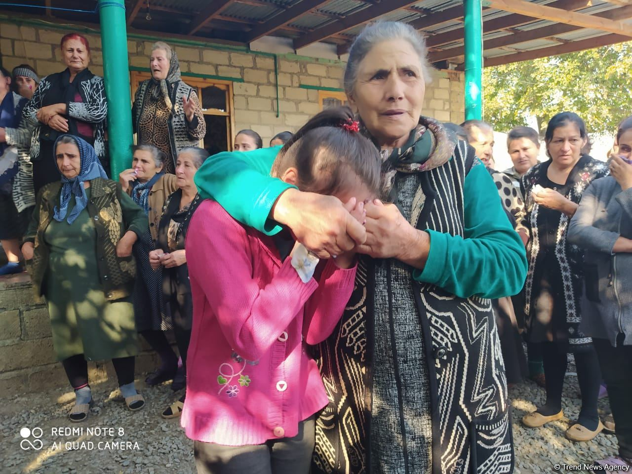 Farewell ceremony held for 7-year-old girl killed due to Armenian missile attack (PHOTO) - Gallery Image