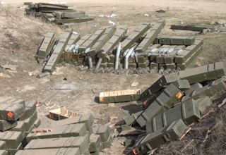 Military equipment left on battlefield by Armenian Armed Forces (VIDEO)