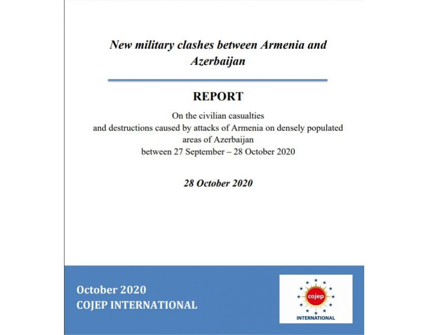 French COJEP issues report on civilian casualties as result of Armenian attacks on densely populated Azerbaijani areas - Gallery Image