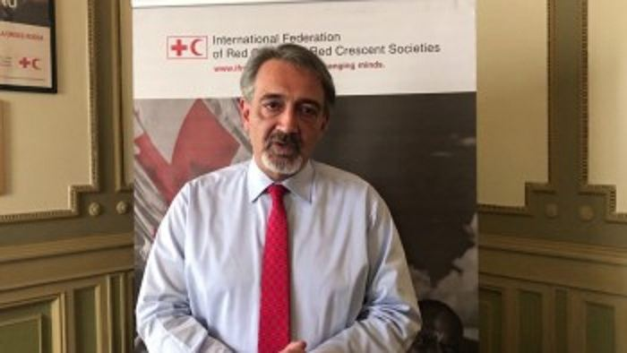 IFRC president makes statement on death of volunteer following Armenia's Barda shelling