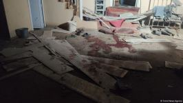 Footage of destroyed house due to Armenia's missile strike on Goranboy (PHOTO) - Gallery Thumbnail
