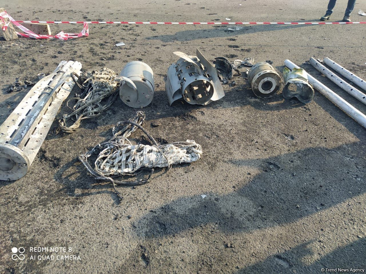 Debris of missiles fired at Azerbaijani Barda (PHOTO) - Gallery Image