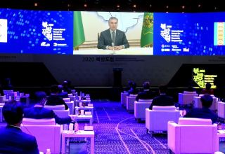 President of Turkmenistan made video statement at International Forum for Northern Economic Cooperation