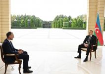 President Ilham Aliyev interviewed by German ARD TV channel (PHOTO) - Gallery Thumbnail