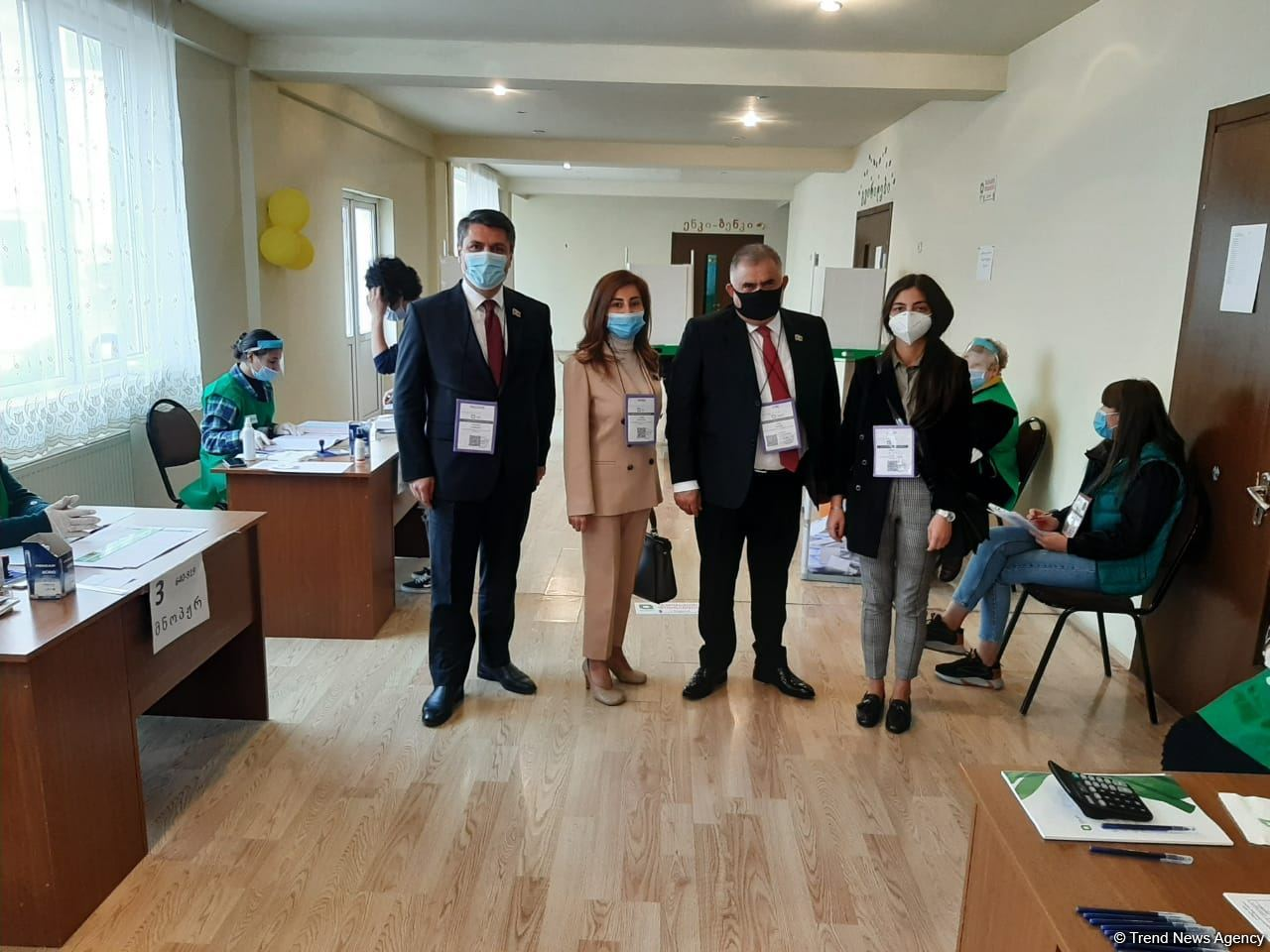 Voting in parliamentary elections in Georgia continues normally - Arzu Nagiyev (PHOTO)