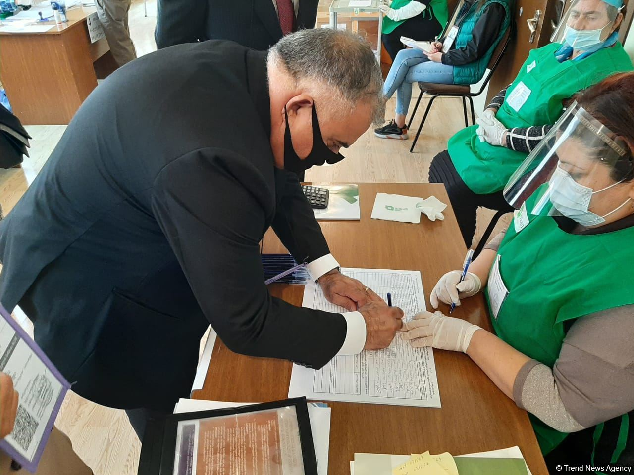 Voting in parliamentary elections in Georgia continues normally - Arzu Nagiyev (PHOTO) - Gallery Image