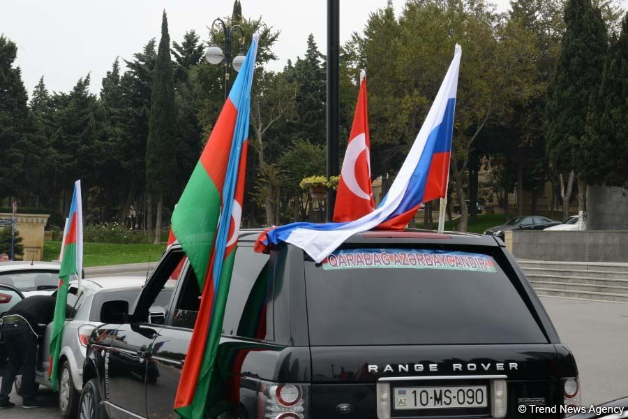 Победа будет за Азербайджаном и мы вернем наши территории  - глава Русской общины (ФОТО) - Gallery Image
