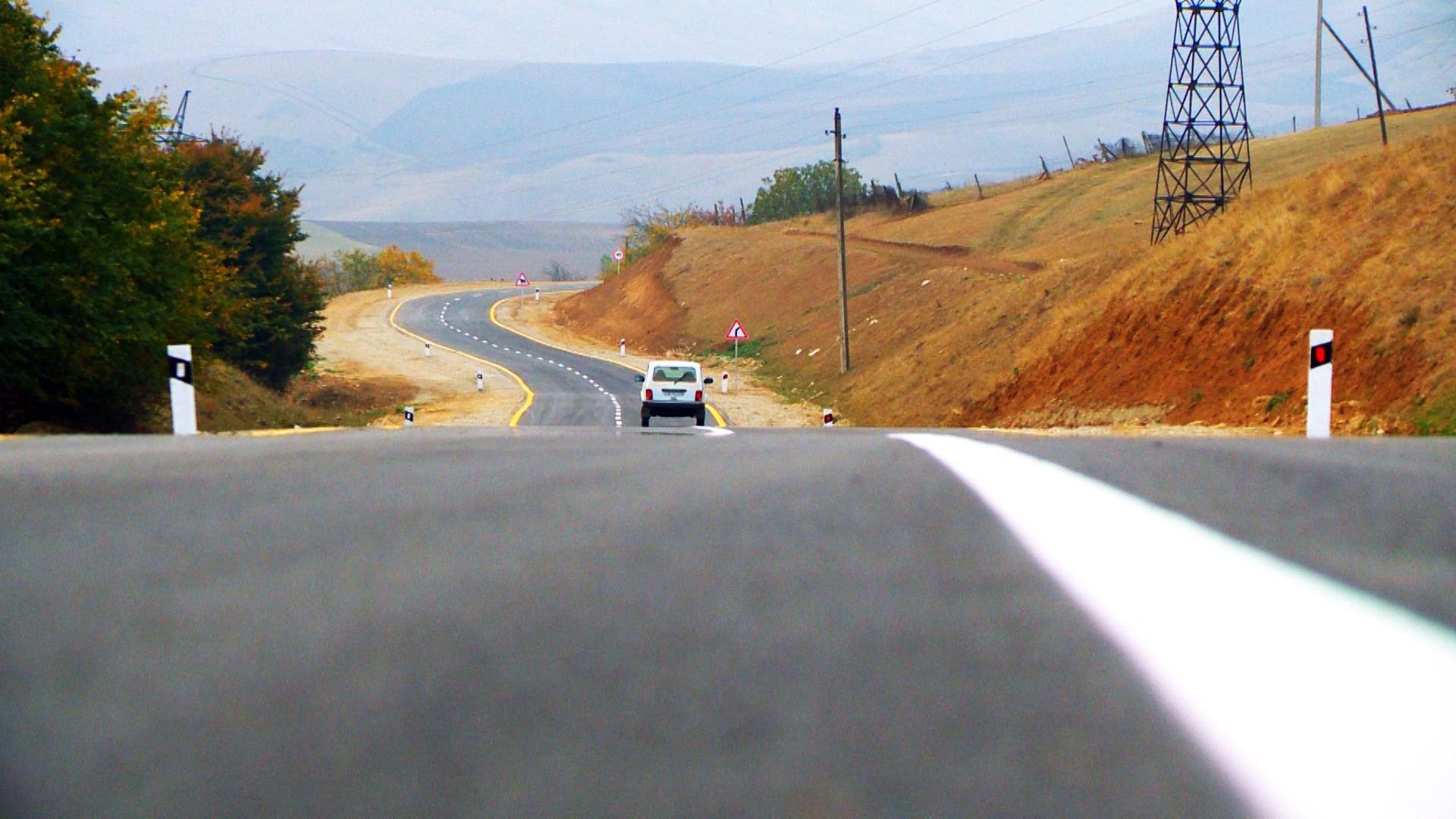 Завершена реконструкция автомобильной дороги в Шамахинском районе Азербайджана (ФОТО) - Gallery Image