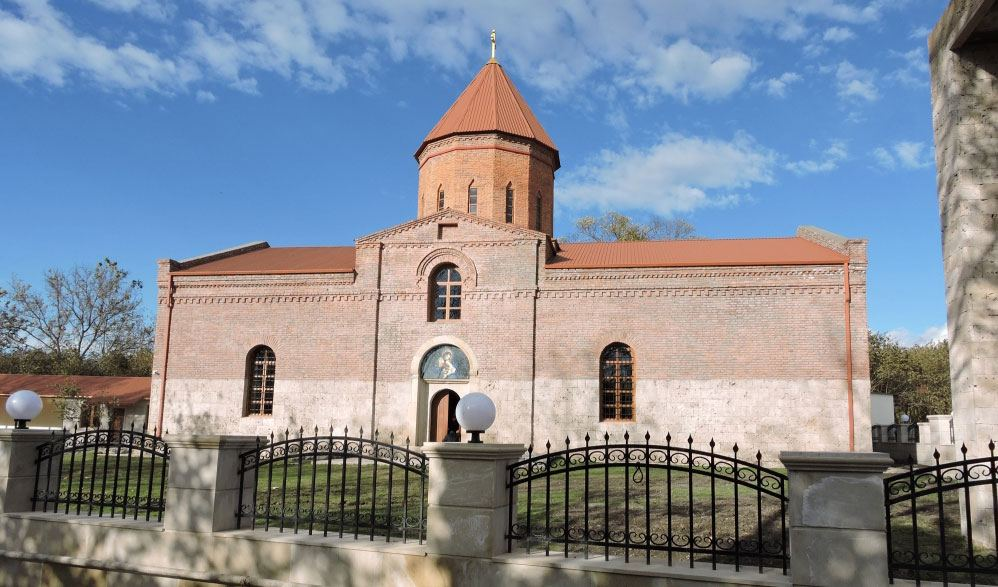 Azerbaijan's Heydar Aliyev Foundation renovates Albanian Church of Holy Virgin Mary (PHOTO) - Gallery Image