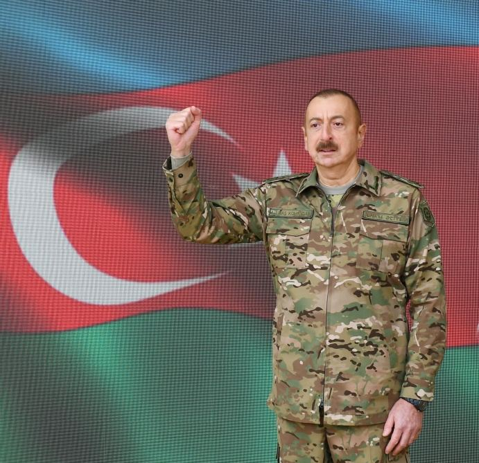 President, Victorious Commander-in-Chief Ilham Aliyev: Dear Shusha, you are liberated!