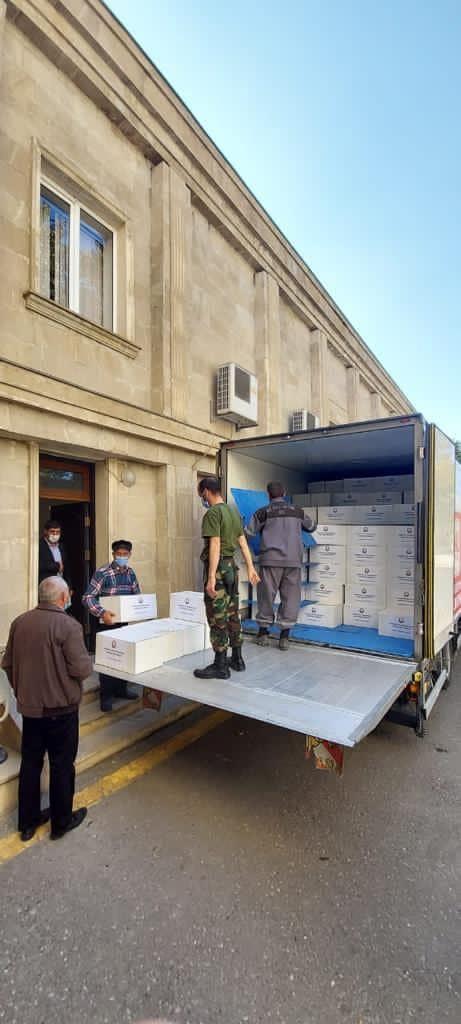 Tərtər və Bərdədə 500 ailəyə humanitar yardım göstərilib (FOTO) - Gallery Image
