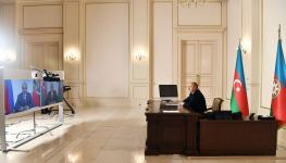 Azerbaijani President Ilham Aliyev, Russian President Vladimir Putin meеt in a videoconference format (PHOTO) - Gallery Thumbnail