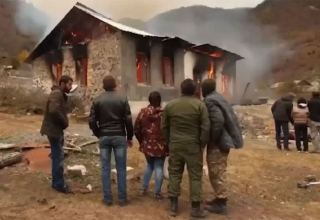 """Scorched earth"" strategy of Armenians leaving Azerbaijani Kalbajar region did not escape EC attention - report"