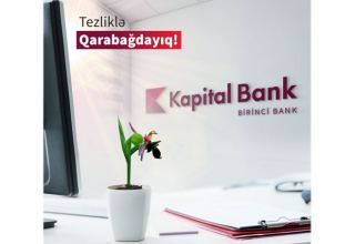 Azerbaijan's Kapital Bank to open branches in districts liberated from Armenian occupation